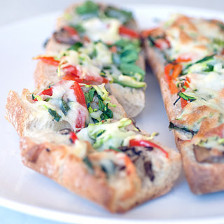 Vegetable Garlic Cheese Bread