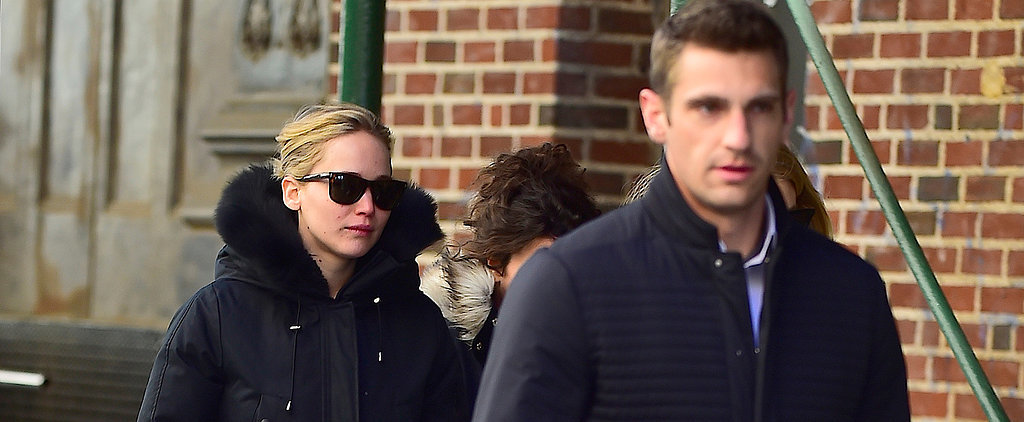 It's All About Jennifer Lawrence's Cute Dog and Hot Bodyguard