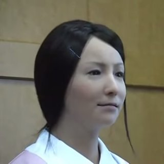 Creepily Lifelike Japanese Robot