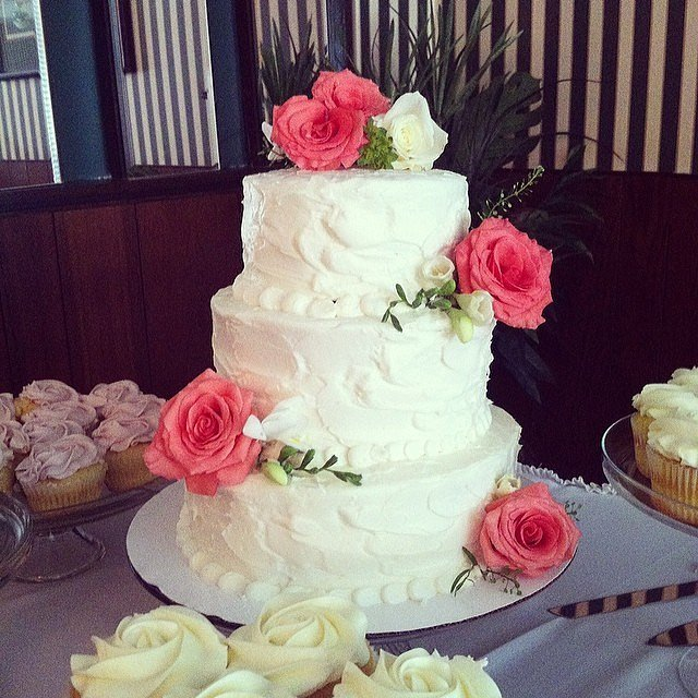 Summer Wedding Food: Summer Wedding Cake Ideas