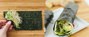 A Sushi Hand Roll That Anyone Can Do