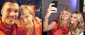 """""""Sag' Cheese!"""" Die besten Selfies der Stars"""