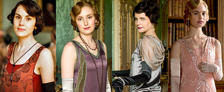 The Regal Fashion in Downton Abbey Is Reason Enough to Keep the Show Going