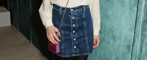 Spring's Coolest Retro Denim Skirts For All Budgets