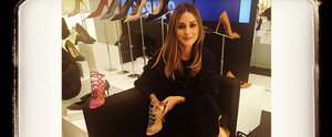 It's Basically Like We Went Shoe Shopping With Olivia Palermo Today