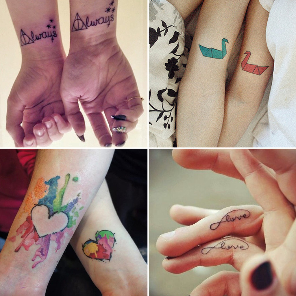 Matching Tattoos For Couples Who Are in It to Win It