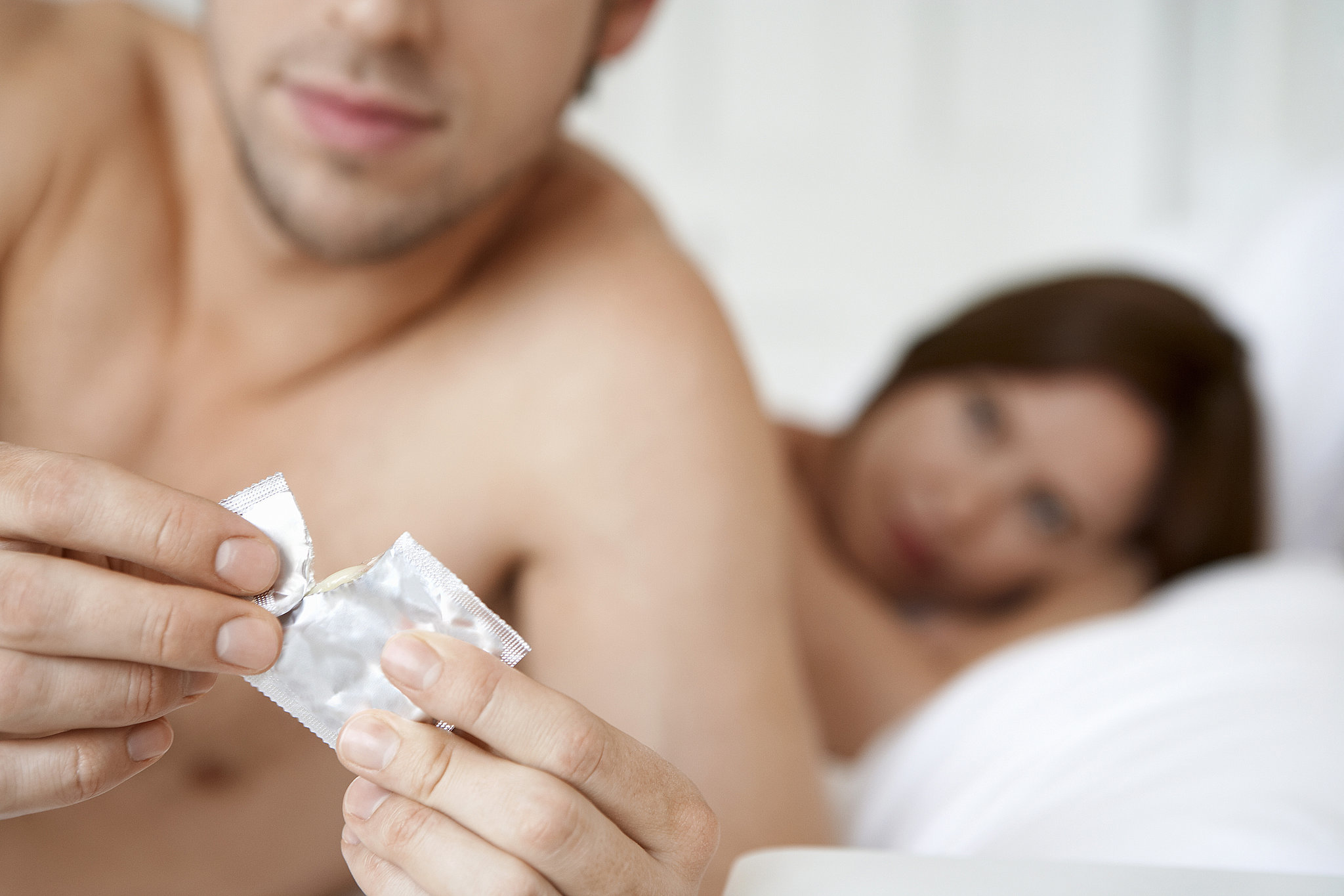 Can you get pregnant if you have on a condom - Answer