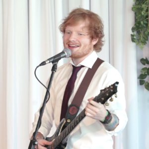 Ed Sheeran Crashes Couple's Wedding