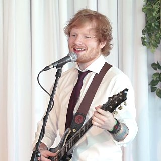 Ed Sheeran Crashes Couple'