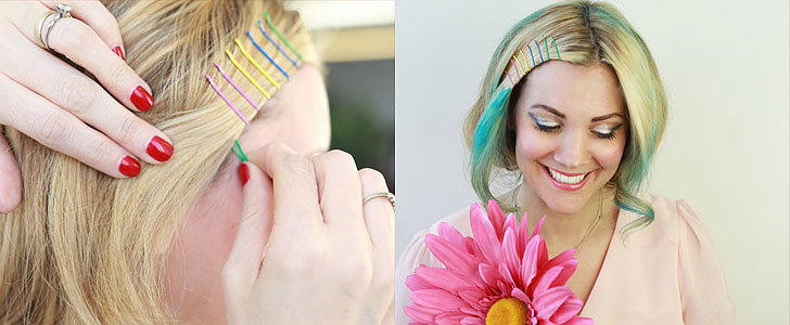 How to Wear Rainbow Hair For Your Wedding Day