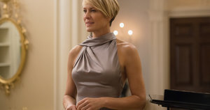 On House of Cards, Claire Underwood Wears Lipstick From Target