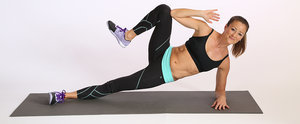 Tone Up Your Waist With This Plank Variation