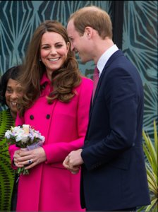 Kate Middleton: Pretty In Hot Pink
