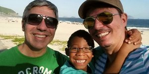 Gay Couple Adopts Brazilian Boy Who Was Rejected For Being 'Too Black'