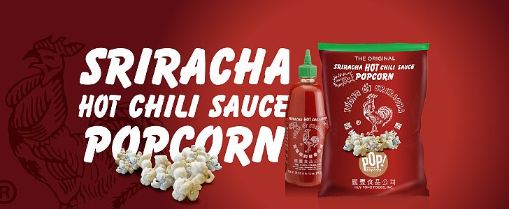 Sriracha Fans, Get Ready For a Whole New Slew of Spicy Snacks