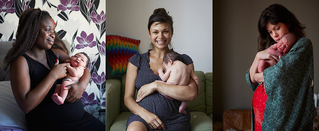 Every Motherly Emotion Is on Display in These Touching Postbirth Portraits