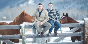 Gay Love On A Montana Ranch Captured By Photographer Brain Powers