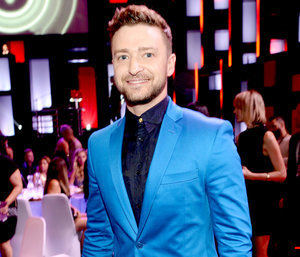 Justin Timberlake's Shout-Out to Pregnant Wife Jessica Biel at iHeartRadio Awards 2015 Is the Cutest