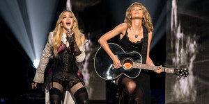 Madonna And Taylor Swift Were Two Souls In A 'Ghosttown' At The iHeartRadio Music Awards