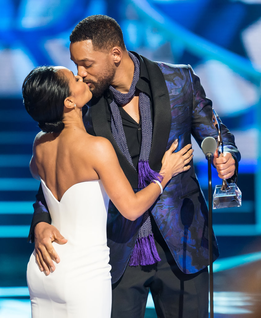 Will and Jada Pinkett Smith at Black Girls Rock! 2015 ...
