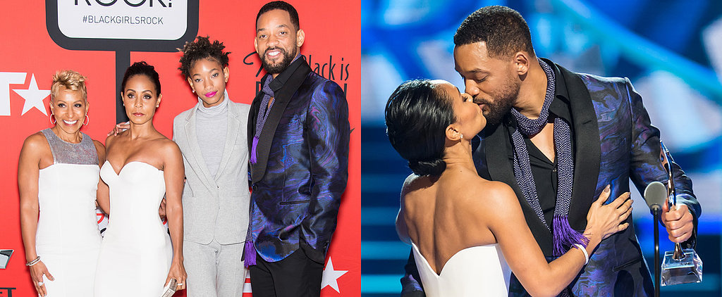 Will Smith Gets a Steamy Kiss From Jada After His Touching Onstage Tribute