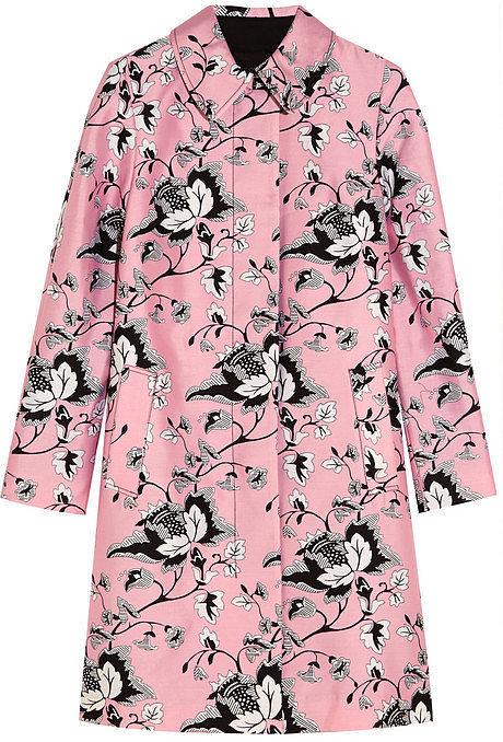 Diane von Furstenberg Amana Printed Coat