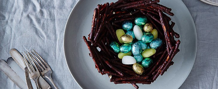 Edible Nest For Easter Time