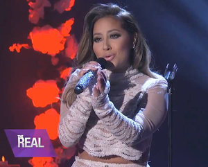 Adrienne Bailon Performs Selena Song on 20th Anniversary of Singer's Death: Watch the Cheetah Girl's First Performance in Six Ye