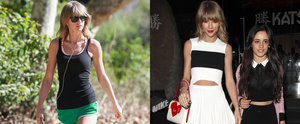 Taylor Swift Hits the Trail in a Hot Pair of Shorts