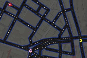 Stop Everything: You Can Play Pac-Man In Google Maps Right Now