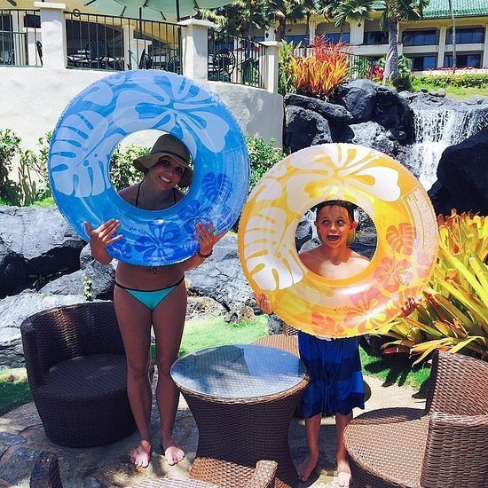 Britney Spears Family Vacation in Hawaii