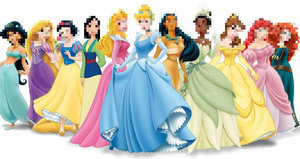 Can You Identify the Pixelated Disney Princesses?