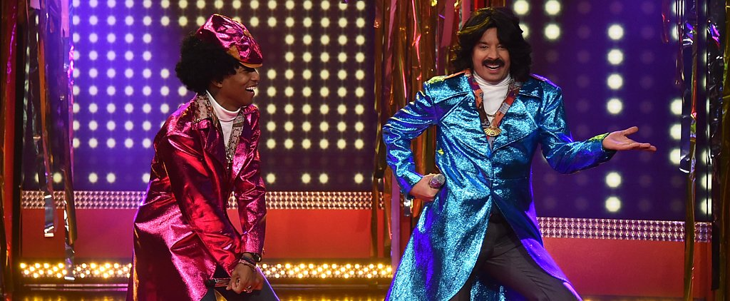 "Pharrell and Jimmy Will Crack You Up as '80s Soul Singers ""Afro & Deziak"""