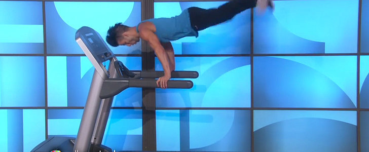 "Watch the ""Uptown Funk"" Treadmill Guy Perform Live on Ellen"