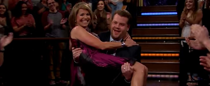 Katie Couric's Epic Prank Shocks James Corden to His Core