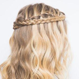 Festival Hair How To Waterfall Braid
