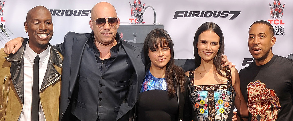 The Furious 7 Cast Comes Together to Premiere Paul Walker's Last Film