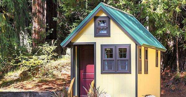 14 goldfinch tiny house healdsburg california 25 for Airbnb cabins california