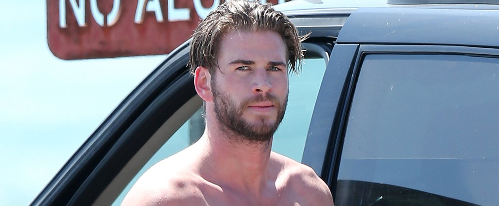 Today, You Finally Get the Chance to Watch Liam Hemsworth Take His Clothes Off