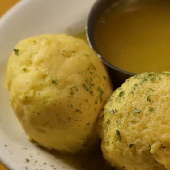 Carnegie Deli Matzo Ball Soup Recipe