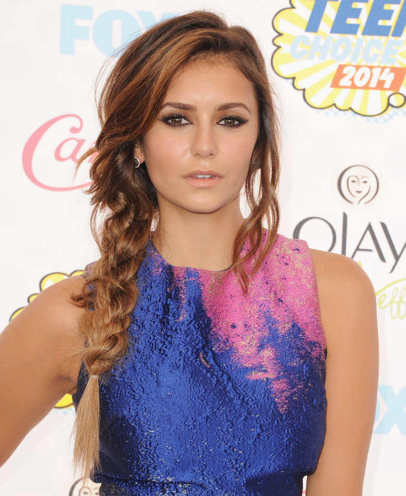 best nina dobrev hair pictures popsugar beauty. Black Bedroom Furniture Sets. Home Design Ideas