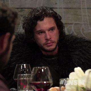 Jon Snow als Gast bei einer Dinner Party