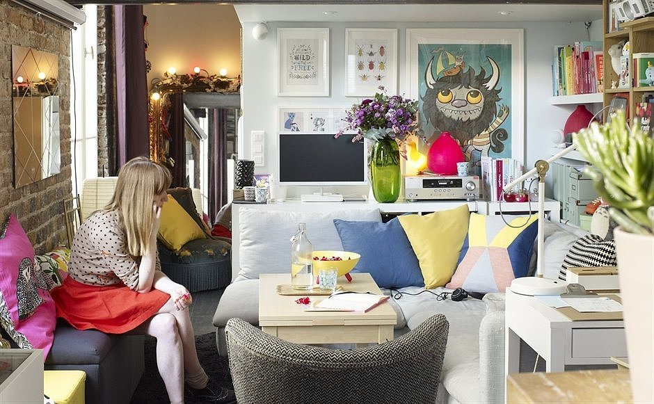 tiny ikea inspired apartment paris popsugar home australia