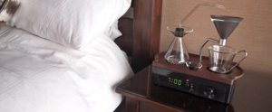 This Coffeemaker Alarm Clock Will Turn You Into a Morning Person