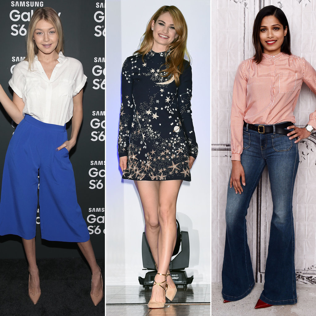 Best Celebrity Style April 10 2015 Popsugar Fashion
