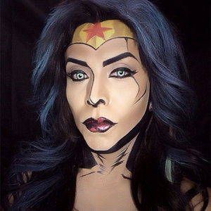 Argenis Pinal Marvel Makeup Transformations