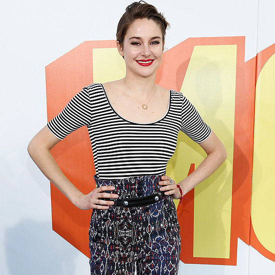 Shailene Woodley at the MTV Movie Awards 2015