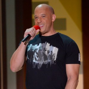 "Vin Diesel Singing ""See You Again"" at 2015 MTV Movie Awards"