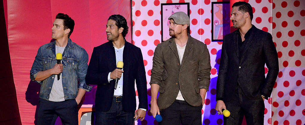 Watch Channing Tatum's Mesmerizing MTV Movie Awards Booty Moment Again . . . and Again