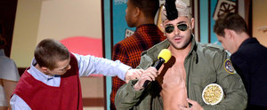 Zac Efron Goes Shirtless at the MTV Movie Awards Again